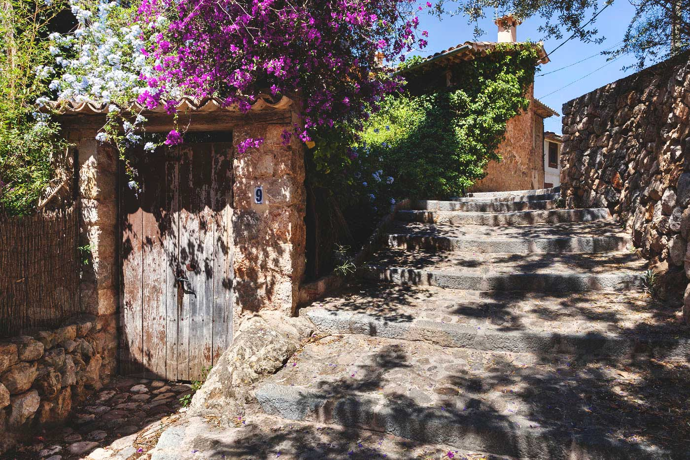 Image of Deià authentic old stone streets