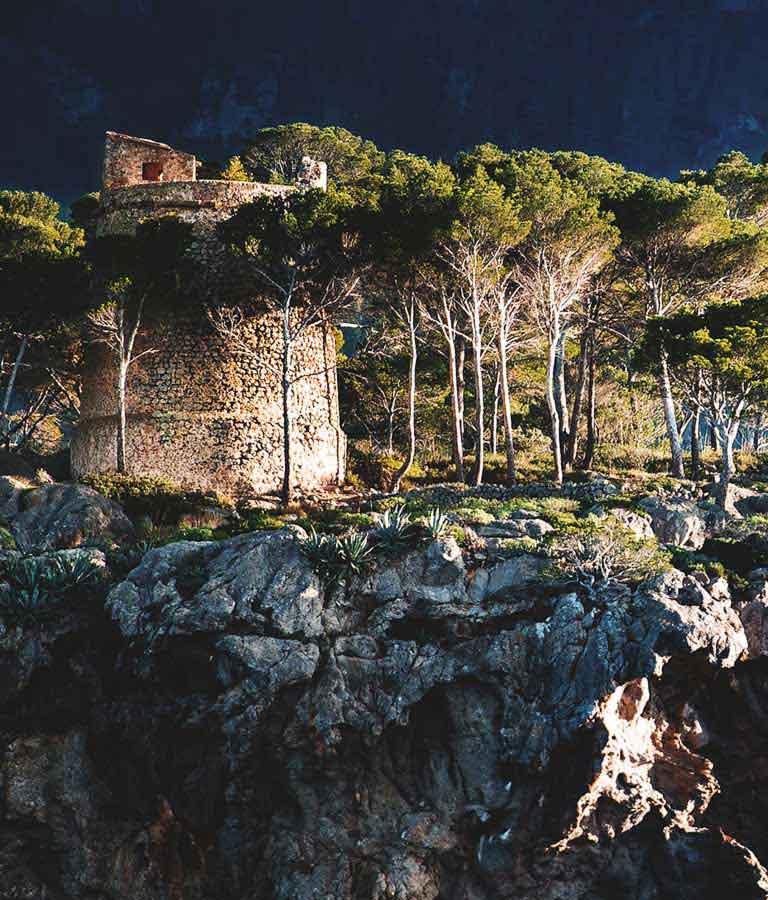 Bild der Stadt Deià